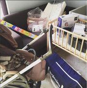 Ζέτα Δούκα: Δείτει το παιδικό δωμάτιο, που ετοιμάζει! (φωτό)