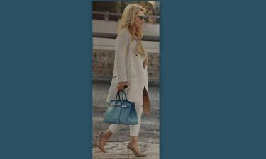 Ελένη Μενεγάκη: Full ανανεωμένη για ψώνια
