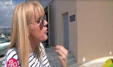 Σάσα Σταμάτη on camera: «Τι είναι παραπάνω από εμάς η Ηλιάκη;- Το ψώνιο τι φόρεσε,πανελίστρια είναι»