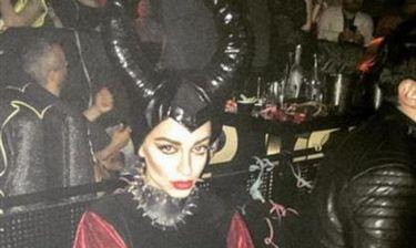 Η Φουρέιρα μεταμφιέστηκε σε μάγισσα Maleficent