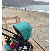 Έκανε βόλτες με το έξι μηνών  μωρό της σε παραλία της Καλαμάτας