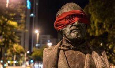 Τα αγάλματα στη Βραζιλία έχουν μάτια ερμητικά κλειστά