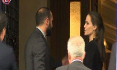 H Angelina Jolie στο Μέγαρο Μαξίμου