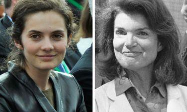 Η απίστευτη ομοιότητα γιαγιάς-εγγονής. Φτυστή η Jackie Kennedy η  Rose.