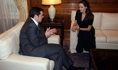 Τσίπρας-Jolie: Τι ειπώθηκε στην συνάντησή τους;