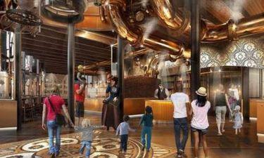 Το Εργοστάσιο Σοκολάτας του Γουίλι Γουόνκα, ''ζωντανεύει'', ως εστιατόριο