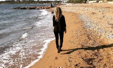Πρωινή βόλτα στη θάλασσα
