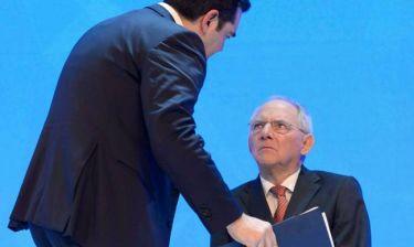 Οι Γερμανοί είναι... φίλοι μας - Ο Σόιμπλε στηρίζει Τσίπρα
