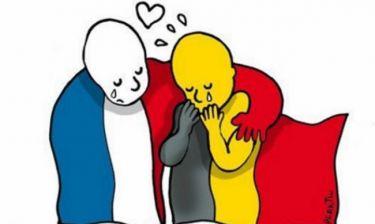 Αυτό το σκίτσο για την τρομοκρατική επίθεση στις Βρυξέλλες κάνει το γύρο του διαδικτύου
