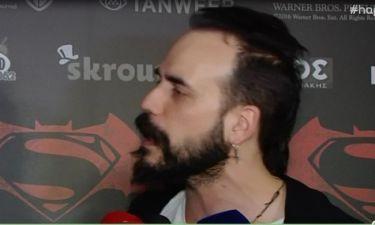 Πάνος Μουζουράκης: Η απάντησή του on camera περί ουσιών