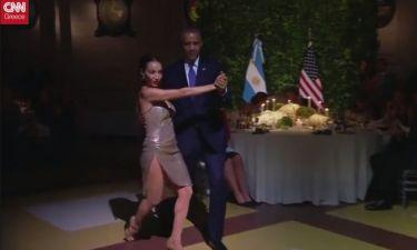 Οι Ομπάμα στα βήματα του αργεντίνικου tango