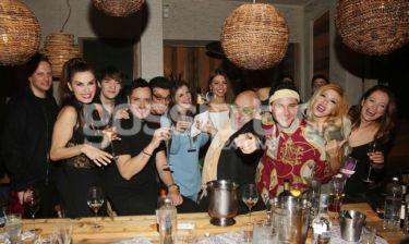 Το πάρτι του Γιώργου Αρβανίτη για το νέο του project