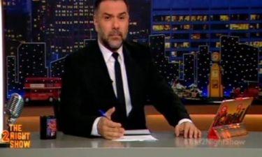 The 2night show: Η ειρωνική απάντηση του Αρναούτογλου στον Κανάκη