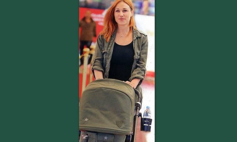 Πηνελόπη Αναστασοπούλου: Πρώτες βόλτες με την κορούλα της
