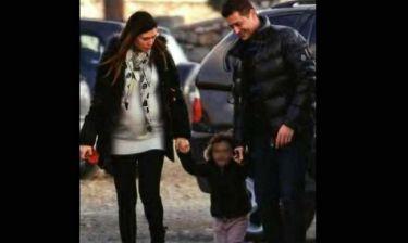 Σρόιτερ-Μπούκη: «Απόδραση» στην Αράχωβα με τη κόρη τους