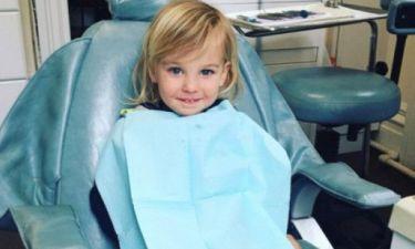 Η star πήγε το γιο της στον οδοντίατρο και μας χάρισε την πιο cute φωτογραφία της ημέρας