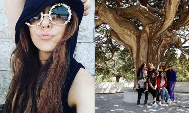 Μελίνα Ασλανίδου: Το ταξίδι της στη Σύμη (φωτο)