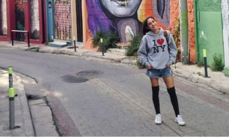 Ελένη Βαΐτσου: Βόλτες στο Θησείο!