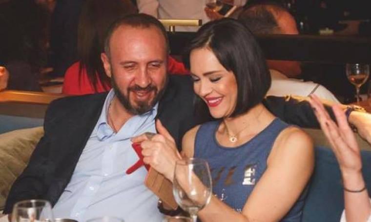 Νικολέτα Καρρά: Για φαγητό με τον σύζυγό της