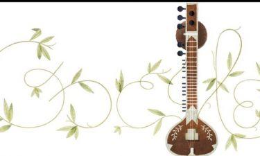 Google Doodle: Τα 96 χρόνια από τη γέννηση του Ραβί Σανκάρ