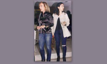 Δανάη Στράτου: Σπάνια εμφάνιση με την κόρη της