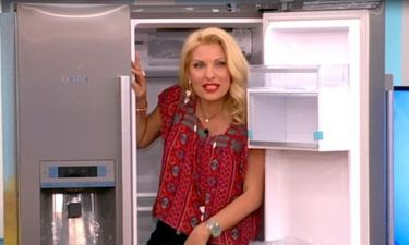 Έλα Παναγία μου! Δε θα πιστεύετε γιατί η Ελένη μπήκε μέσα στο ψυγείο