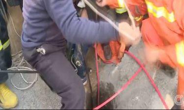 Εφιάλτης για τρίχρονο: Έπεσε σε πηγάδι 90 μέτρων