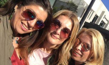Νατάσα Θεοδωρίδου: Μεσημεριανό καφεδάκι με φίλες