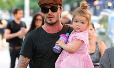 Η Harper Beckham πάει και στο... γυμναστήριο. Θες να τη δεις;