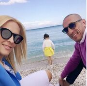 Full in love στην παραλία για το γνωστό ζευγάρι της ελληνικής σόουμπιζ