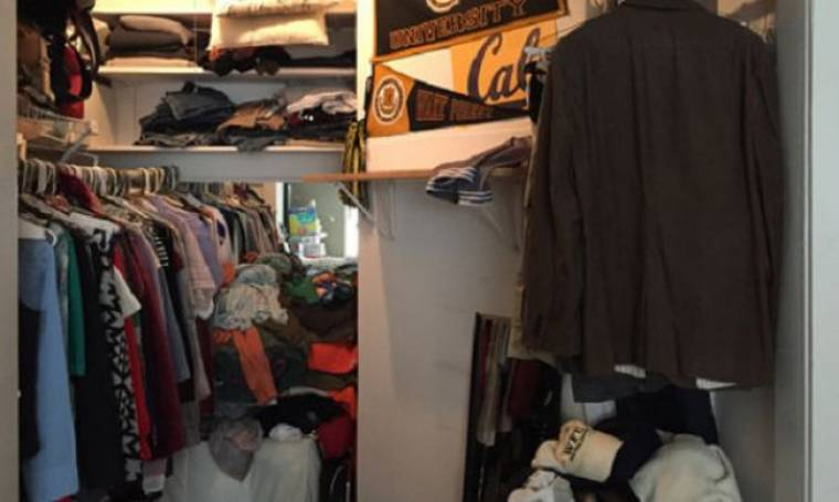 Δείτε πώς μία μεγάλη ντουλάπα μπορεί να μετατραπεί σε βρεφικό δωμάτιο