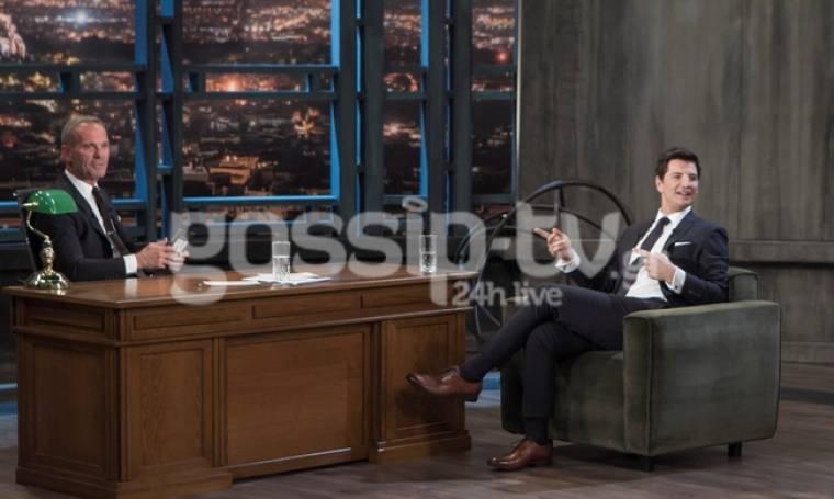 Νέες φωτό από το  «Βράδυ» με τον Πέτρο Κωστόπουλο και καλεσμένο τον Ρουβά