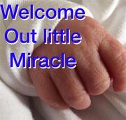 Χαλκίτη: Το μήνυμά  στις γυναίκες που δυσκολεύονται να αποκτήσουν παιδί και η πρώτη φωτό του μωρού