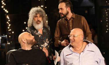 Ο Λάκης Παπαδόπουλος στο «The Music Project by Jumping Fish» με τον Μιχάλη Κουινέλη