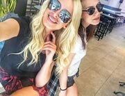 Κατερίνα Καινούργιου: Μεσημεριανό καφεδάκι με φίλη της!