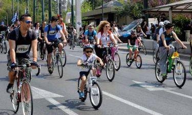 23ος Ποδηλατικός Γύρος της Αθήνας: Ποιοι δρόμοι θα κλείσουν