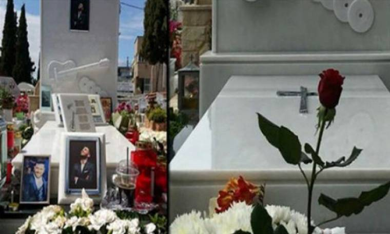 Οργή για τη λεηλασία του τάφου του Παντελίδη – Έλειπαν μέχρι και τα λουλούδια!