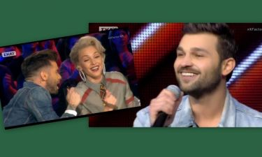 X-factor: Τάμτα-Μαραντίνης: Ενθουσιάστηκαν με τον διαγωνιζόμενο και του έκαναν φωνητικά