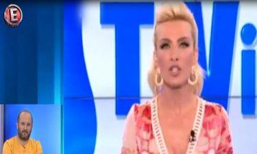 Η εκπομπή της Καινούργιου κόβεται και κλαίει τη μοίρα της στο Λόγω Tivis