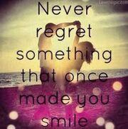 Το μήνυμα όλο νόημα της Καινούργιου: «Ποτέ μην μετανιώσεις κάτι που κάποτε σε έκανε να χαμογελάς»