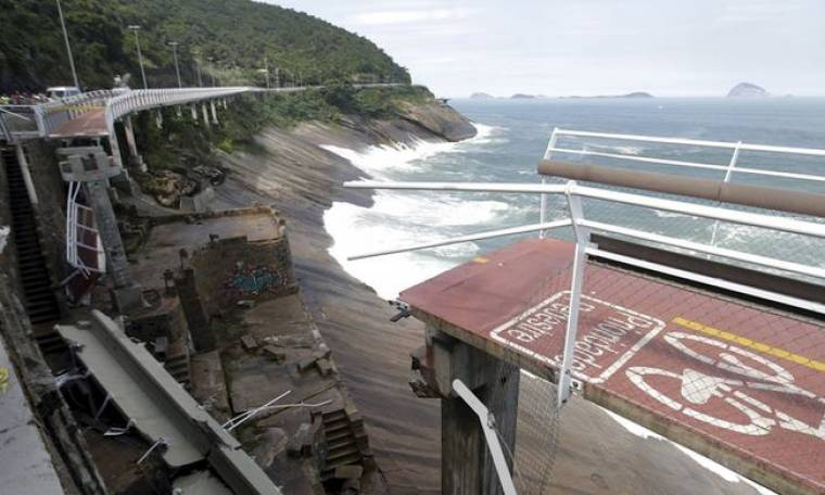 Ολυμπιακό έργο καταρρέει στη Βραζιλία