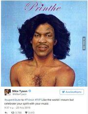 Mike Tyson: Δείτε με τι τρόπο τίμησε τον Prince