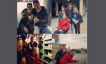Σάκης Αρσενίου: Το ταξίδι στο Λονδίνο, η ευχή του μικρού Διονύση και το συγκινητικό μήνυμα