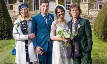 O Mick Jagger πάντρεψε τον γιο του! (φωτό)