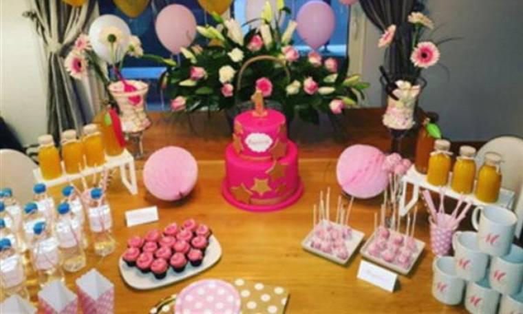 Γιόρτασαν τα πρώτα γενέθλια της κόρης τους (φωτό)