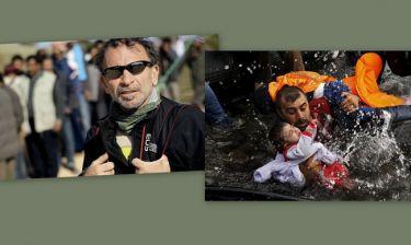 Γιάννης Μπεχράκης: «Είναι μια φωτογραφία που έχει συναίσθημα, είναι το δευτερόλεπτο»