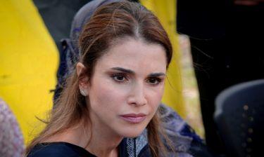 Η βασίλισσα Ράνια της Ιορδανίας στη Λέσβο