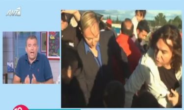 Γιώργος Λιάγκας: Το ξέσπασμά του για την επίσκεψη Σαμαρά-Κωστέτσου στην Ειδομένη