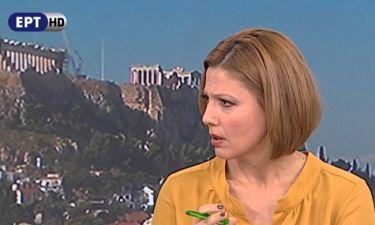 Μαριλένα Κατσίμη: «∆εν είναι ειδήσεις αυτές που παρακολουθώ σε πολλά ιδιωτικά κανάλια»