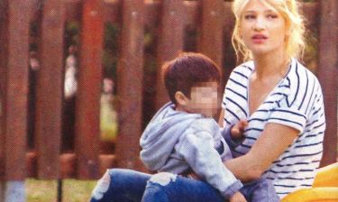 Φαίη Σκορδά: Βόλτες με τους γιους της